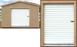 Toy shed 6' x 7' roll-up door