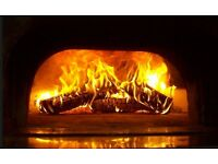 Italian wood oven pizza shop for sale