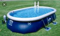 Swimming pool 22' X14 ' and many accessories