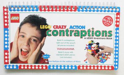 Lego Crazy Action Contraptions Idea Book (Klutz) by Don Rathjen w/ Parts B100](Part Ideas)