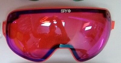 Spy Bravo Replacement Goggle Lens Salmon w Lt Silver Mirror (Spy Replacement Lenses)