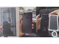APPLE IPHONE 7+ PLUS 32GB UNLOCKED MATT BLACK BRAND NEW CONDITION APPLE WARRANTY & SHOP RECEIPT