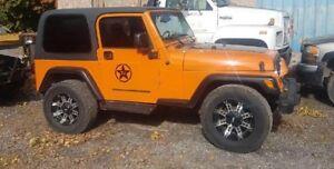 2003 Jeep TJ 4x4 $5000