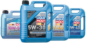 LiquiMoly oil and additives