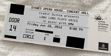 Lang Lang plays Grieg (x2) Sydney City Inner Sydney Preview