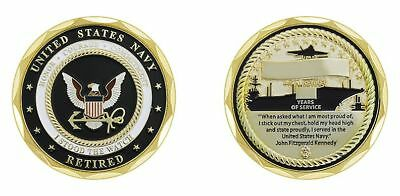 U.S. Navy Retired I Stood the Watch Coin [CC-1779]