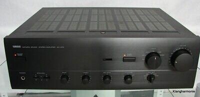 Yamaha AX-470 Sonido Natural Amplificador, Max. 2 x 180 W, 12 Meses de Garantía, usado comprar usado  Enviando para Brazil