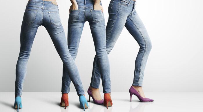 Kaum ein anderes Kleidungsstück ist so wandelbar wie die Jeans. (Copyright: Thinkstock/ über The Digitale)