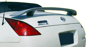 Fits 2003 - 2009 Nissan 350Z Convertible Custom Style Spoiler Wing Primer