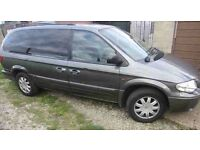 Chrysler voyager 7 seater automatic 2006