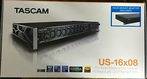 TASCAM US-16X08 Audio Interface/Mic Preamp