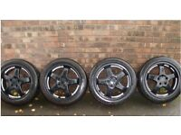 For Sale 4x 17in 5 stud alloy wheels