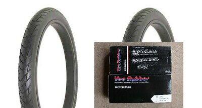 """paire Blackwall Kenda 163026 Big City Slick Wire Bead Vélo Pneu 26 X 1.95/"""""""