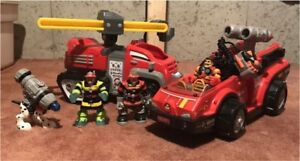 Rescue Heroes Lot 2 - Fire