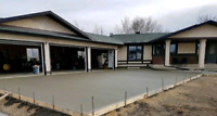 Professional Concrete Services - Driveways, Garages