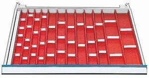 Schubladeneinteilung  -Muldenplatten 600x600 mm