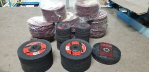 Grinding & Sanding discs - Lot price for all