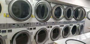 Coin laundry CLOSING : for sale  Wascomate Double stuck dryers