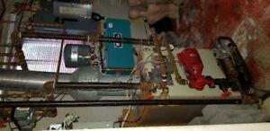 Système de chauffage  bi-énergir pour pièce.