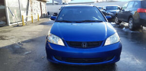 2005 HONDA CIVIC 2 Door Coupe Runs and Drives Excellent...