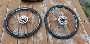"""Ensemble de roues vélo 26"""" pour cannondale lefty"""