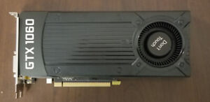 NVIDIA GeForce GTX 1060 Graphics with 3GB of GDDR5 - NEW