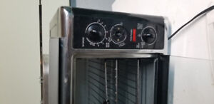 Convection oven plus Rotisserie