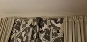 Curtain Rods - Ikea - $50 for the pair!