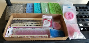 Assorted Moulds for fondant, candy, jellies, chocolate