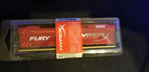 BRAND NEW - HyperX Fury 8 GB RAM 2400 DDR4