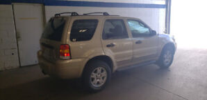 2007 Ford escape(low k's)