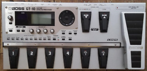 BOSS GT-10 Multi-Effects Pedal and Instruction on using it!