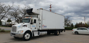 KENWORTH T370 REEFER STRAIGHT TRUCK FOR SALE