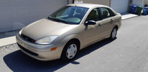 2001 Ford Focus Sedan SE  2.0L