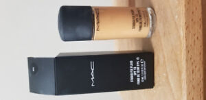 Mac Studio Fix Fluid SPF 15; Used only a couple of times!