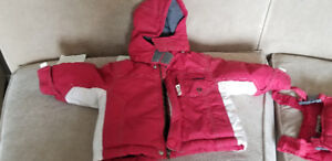 Oshkosh winter coat with pant for 12 months old