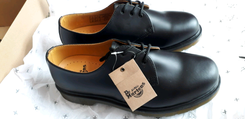 top brands best online sale retailer Doc Marten ( Dr Martens ) shoes 1461 PW Black 11839002 Smooth NewBoxed   in  Oxton, Merseyside   Gumtree