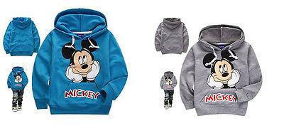 Baby Kids Boys Toddlers Hoodies Tracksuit Children Clothing Set Sportswear 1-7Y