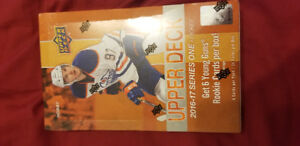 2015-16 2016-17 upper deck series one boxes