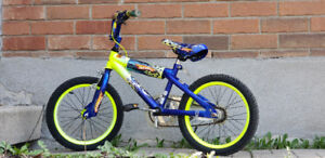 Hot Wheels Kids Bike For Sale 16""