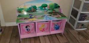 Toy Storage Bench