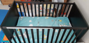 IKEA baby crib with mattress in Vancouver