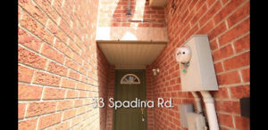 Townhouse For Rent / Lease available in Brampton