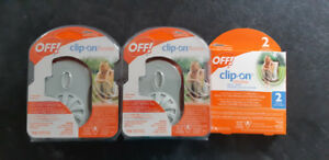 OFF clip-on mosquito repellent fan and refills