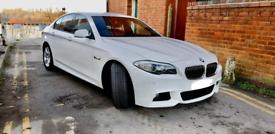 BMW 5 series, 520 Msport, white, 2011, Professional Media