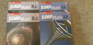 DescriptionPractice book Jump Math, brand new, never used.