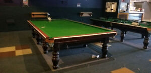 Snooker table (7 of them)