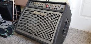 300 watt Traynor hybrid keyboard amp.