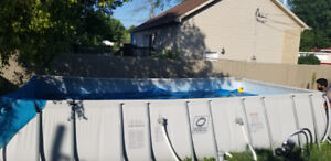 REDUCED! ABOVE THE GROUND POOL+SOLAR PANELS AND MORE