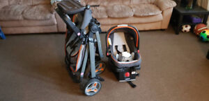 stroller and car seat Graco in excellent shape